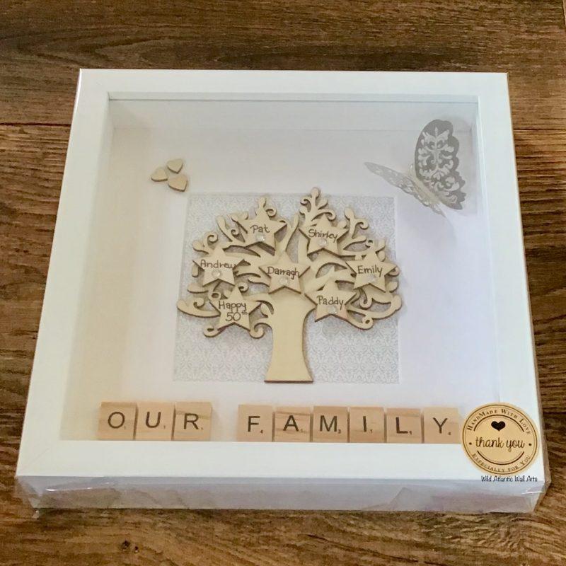 Wooden Family Tree