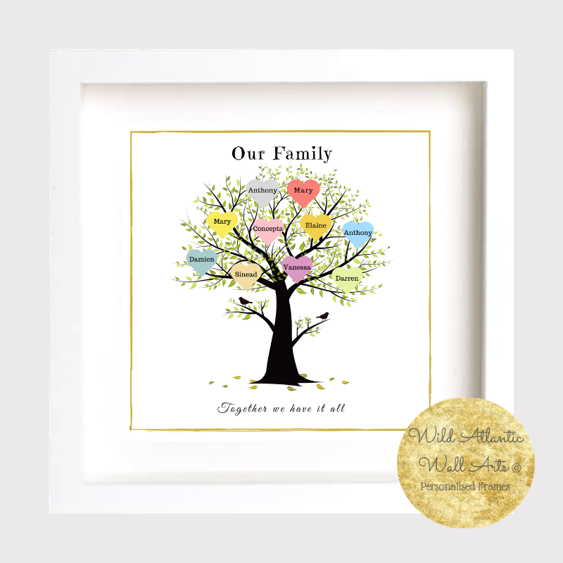 Personalised Tree Frame