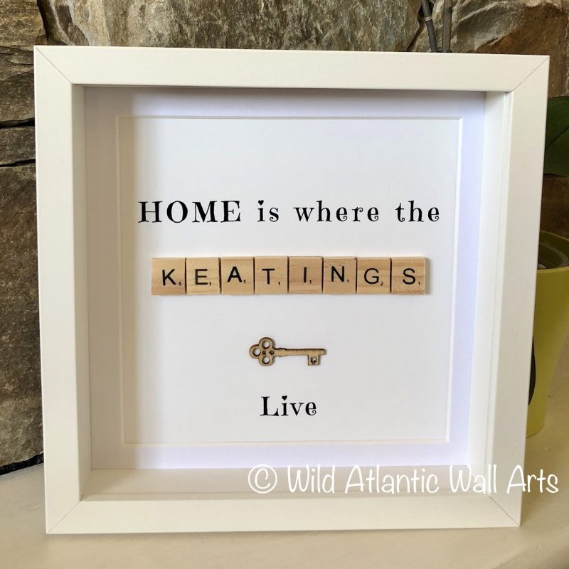 Personalised Home Print Frame