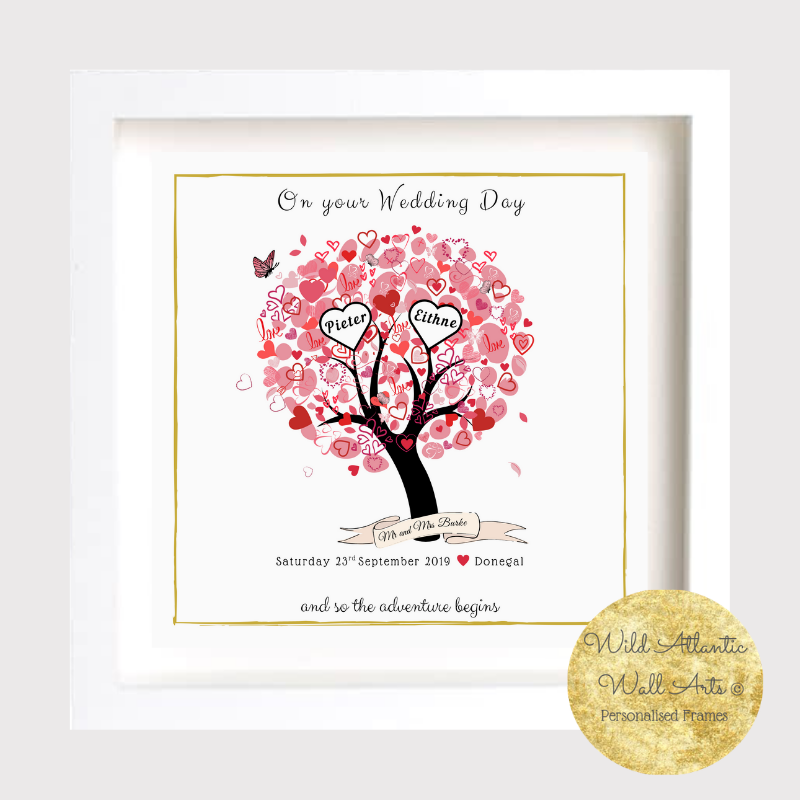 Wedding love Tree