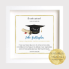 Graduate. College. Diploma. Graduation Gift. Keepsake. Wonde3rful way to treasure the graduation portrait. Personalised Archival Print framed in the west of Ireland. Wild Atlantic