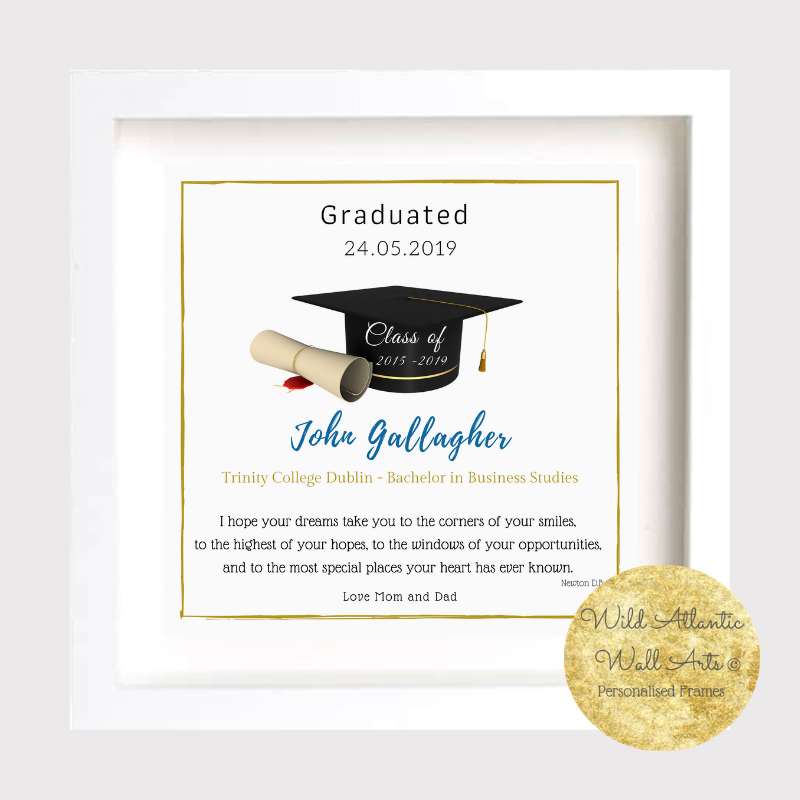 Personalised Graduation Frame