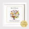 Mother's Day Tree Frame. Family Tree for mom, mother. Gift Frame, Archival Print. Personalised Gift. Ireland, irish business
