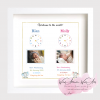 Welcome to the world photo frame keepsake, In this moment, the time stood still.. Personalised Birth Stats New Baby Gift, christening gift, home decor. Birth Stats, new baby gift. Clock frame. Gift frame for birth.twins, triplets, siblings. Gift for the family. Nursery room decoration. Frame with babies photo. Made in Ireland, small irish business.