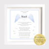 Baby Remembrance Frame | Baby | Child Loss | Angel This Personalised Baby Clock Frame makes a touching and very special keepsake for bereaved parents and family at a difficult time.Forever in our hearts. Baby Angel. Baby Loss. baby Child Memory Frame. Angel Baby. in Heaven.. wings
