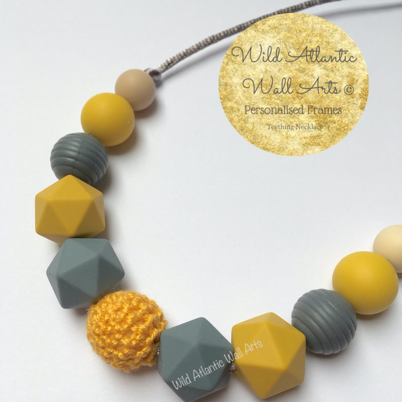 Teething Necklace | Jewellery | Mustard