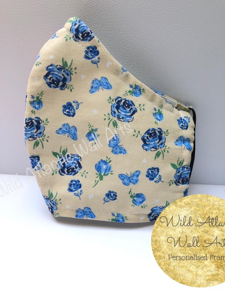 100%cotton face mask, reusable mask, cloth mask. eco friendly, reusable, washable, help to save lives. Hand Made in Ireland. Buy 100% cotton face mask online. delivery in Ireland.