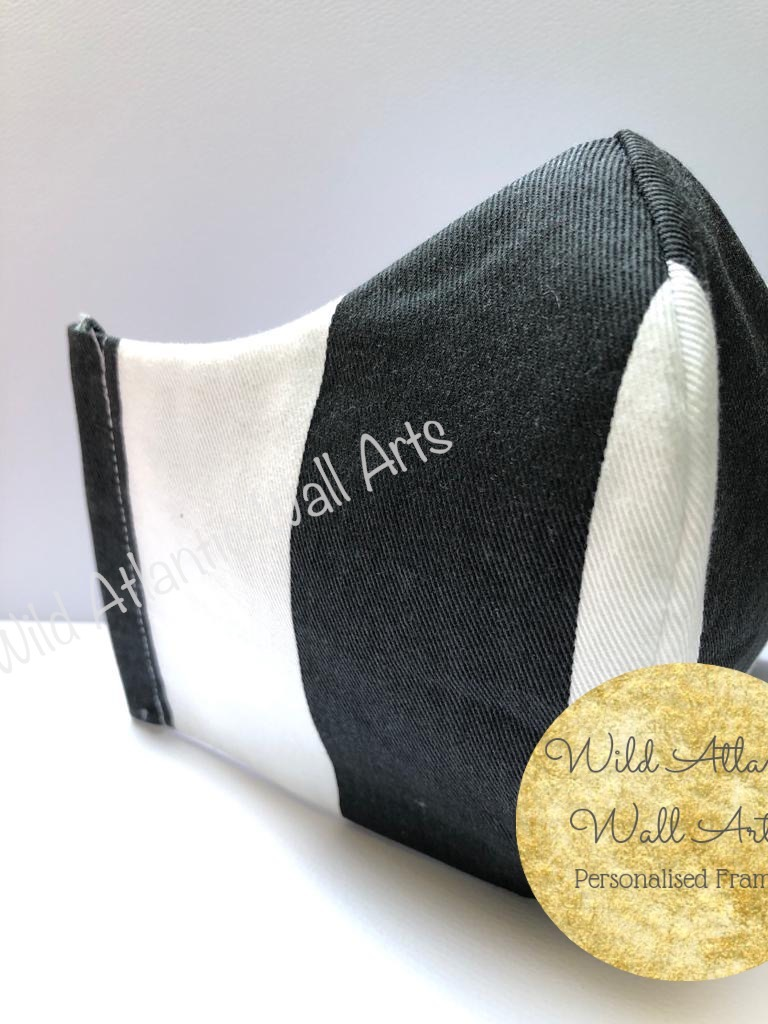 100% cotton face mask, reusable mask, cloth mask. eco friendly, reusable, washable, help to save lives. Hand Made in Ireland. Buy 100% cotton face mask online. delivery in Ireland. Reusable Cotton Face Masks