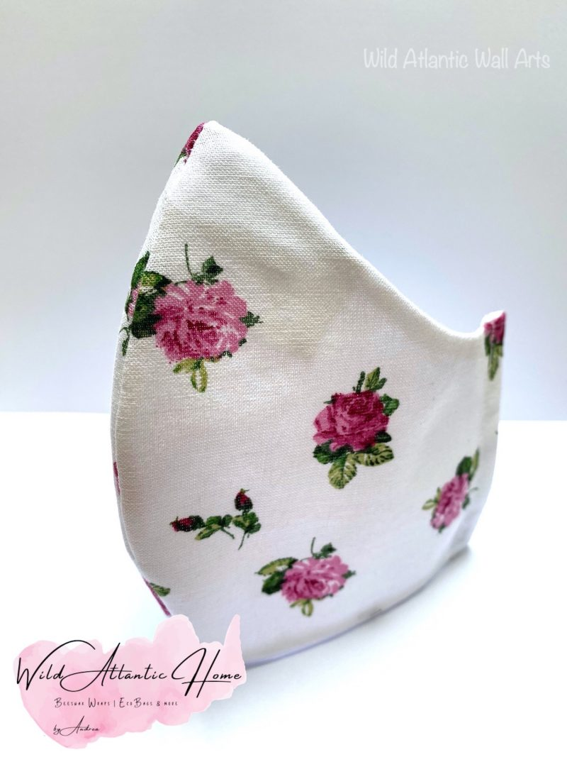 Where to buy cloth face mask in Ireland? 100% cotton reusable eco face mask, reusable mask, cloth mask. eco friendly, reusable, washable, help to save lives. Hand Made in Ireland. Buy 100% cotton face mask online. delivery in Ireland. Reusable Cotton Face Masks. comfy mask.reusable.Hand made irish, small business