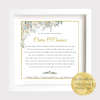 Confirmation Gift, Personalised Confirmation Keepsake Gift Frame. First Holy Communion Gift Frame, personalised print, personalised frame, holy communion, communion gift, confirmation, unique gift. Personalised ~Photo quality print.Confirmation Keepsake. Confirmation Gift Frame