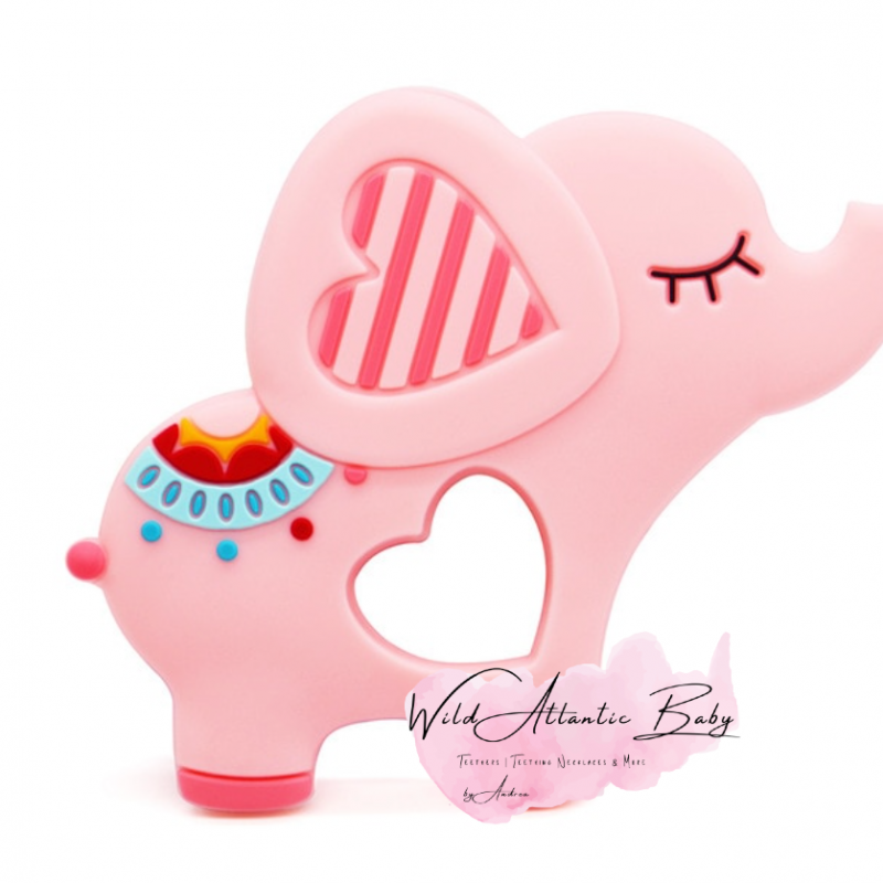 Cute Silicon Teether