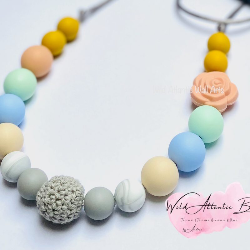 Teething Necklace | Pastels