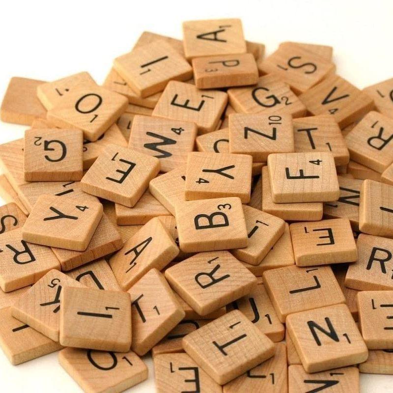 Baby Scrabble | Letter Frame